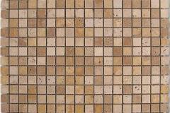 Mosaico Travertino Dados