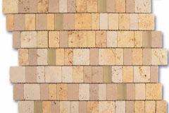 Mosaico Travertino Panfilia
