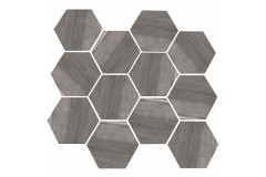 Dark Grey Hex 11.69 x 12.40