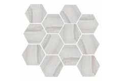 Light Grey Hex 11.69 x 12.40