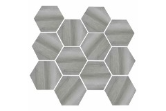 Medium Grey Hex 11.69 x 12.40