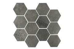 Gun Powder Hex 11.69 x 12.40 Matte