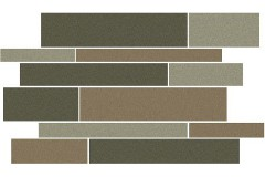 Gray 12 x 18 Stripe Deco