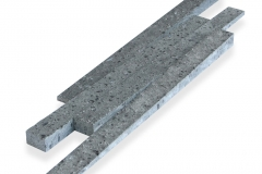 Flecked Andesite (flamed)